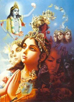 03-brahma-prays -  Brahma, O Deus Criador